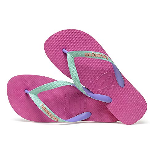 Havaianas Damen Top Mix Zehentrenner, Pink (Hollywood Rose 0064), 35/36 EU von Havaianas