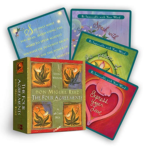 Four Agreements Cards von Hay House Inc.