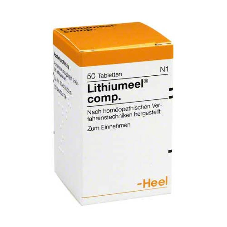 Lithiumeel comp.Tabletten von Heel