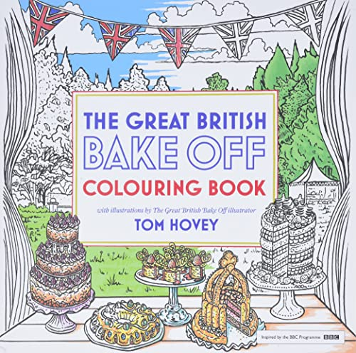 Great British Bake Off Colouring Book: With Illustrations From The Series (Colouring Books) von Hodder & Stoughton