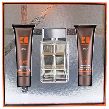 Hugo Boss Boss Orange Man  - Geschenksets Eau de Toilette 60 ml + After Shave Balm 50 ml  + Duschgel 50 ml von Hugo Boss