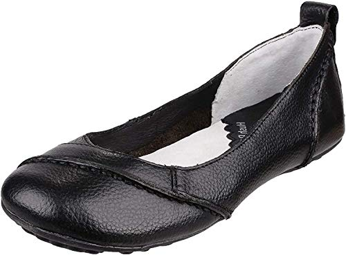 Hush Puppies Damen Janessa Geschlossene Ballerinas, Schwarz (Black), 38 EU (5 UK) von Hush Puppies