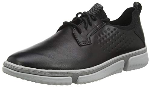 Hush Puppies Herren Bennet Oxford, Schwarz, 43 EU von Hush Puppies