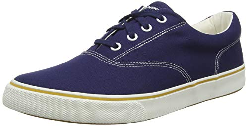 Hush Puppies Chandler Sneaker, Herren Niedrig, Blau (Navy Navy), 43 EU (9 UK) von Hush Puppies