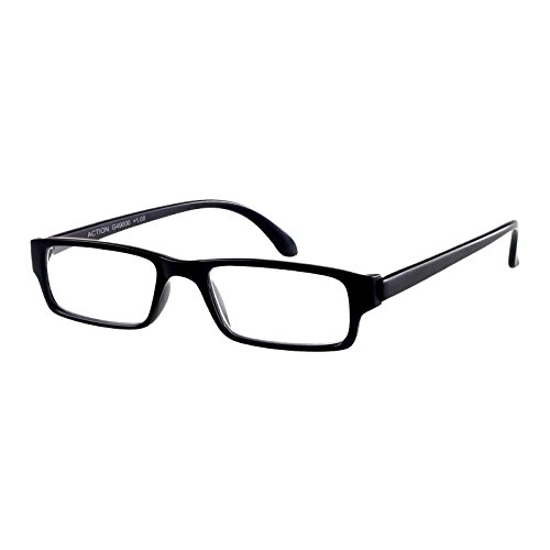 I NEED YOU Lesebrille Action SPH: 1.00 Farbe: schwarz-matt, 1 Stück von I Need You
