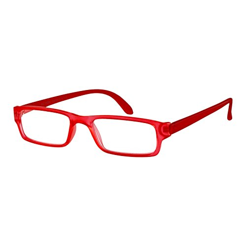 I NEED YOU Lesebrille Action SPH: 2,00 Farbe: rot-matt, 1 Stück von I Need You