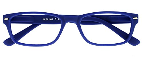 I NEED YOU Lesebrille Feeling, +1.00 Dioptrien, blau von I Need You