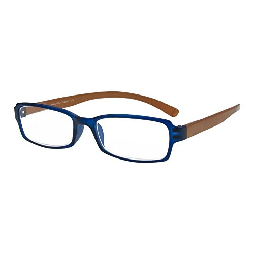 I NEED YOU Lesebrille Hangover / +1.00 Dioptrien/Blau-Braun, 1er Pack von I Need You