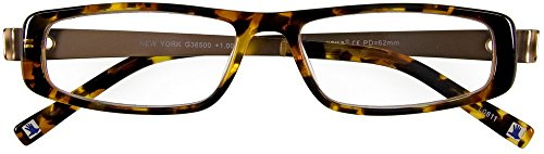 I NEED YOU Lesebrille New York / +1,00 Dioptrien / havanna/gold von I Need You