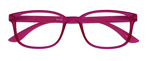 I NEED YOU Lesebrille Rainbow, 2.00 Dioptrien, pink von I Need You