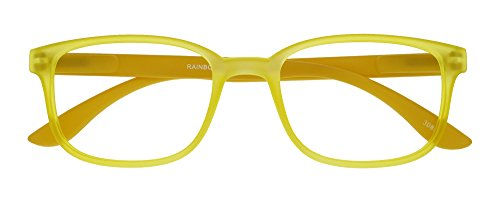 I NEED YOU Lesebrille Rainbow, 3.00 Dioptrien, gelb von I Need You