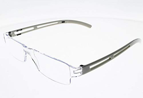 I Need You Lesebrille Joy - Dioptrien: +2,50 Kristall-Weiß von I Need You