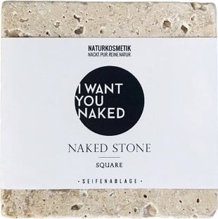Naked Soap Stone - Square von I WANT YOU NAKED