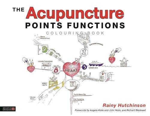 The Acupuncture Points Functions Colouring Book von Jessica Kingsley Publishers