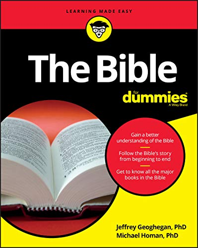The Bible For Dummies (For Dummies (Religion & Spirituality)) von John Wiley & Sons Inc
