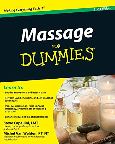 Massage For Dummies (For Dummies Series) von For Dummies