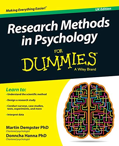 Research Methods in Psychology For Dummies von For Dummies