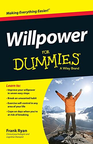 Willpower For Dummies (For Dummies Series) von For Dummies