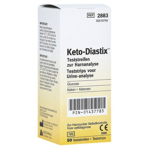 Keto Diastix Teststreifen 50 stk von Ascensia Diabetes Care Deutsch