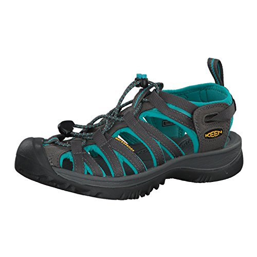 Salomon Damen Whisper Sandalen Trekking-& Wanderschuhe, Grau (Shadow/Ceramic), 36 EU von Salomon