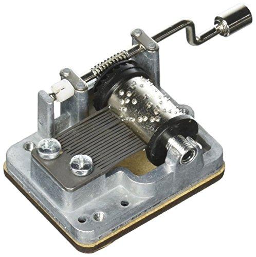 """Mechanische Spieluhr Metall """"Imagine"""" Drehorgel Mechanical Music Box Beatles"""