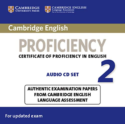 Cambridge English Proficiency 2 for updated exam: 2 Audio CDs von Klett Sprachen GmbH