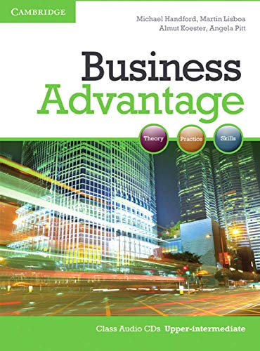 Business Advantage B2: Upper-Intermediate. 2 Audio CDs (Student's Book) von Klett Sprachen GmbH