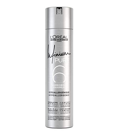 Infinium 6 Pure Strong Hairspray Loreal Professionnel 300 ml von L'Oréal Paris