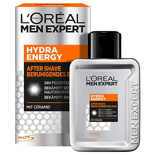L'Oreal Men Expert Hydra Energy After-Shave Reparierender Balsam, 100 ml von L'Oréal Men Expert