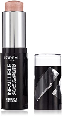 L'Oréal Paris Highlighter Makeup Infaillible Strobing, Kontur-Stick 503, 1er Pack (1 x 9 g) von L'Oréal Paris