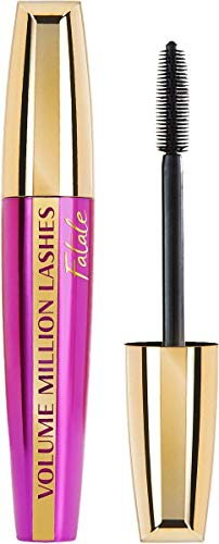 L'Oréal Paris Volume Million Lashes Fatale Mascara Schwarz, Wimperntusche verdichtet die Wimpern für ein tiefschwarzes Ergebnis (1 x 9,4ml) von L'Oréal Paris