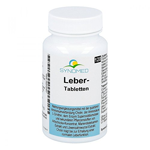 Leber Tabletten, 120 Tabletten (68.4 g) von SYNOMED