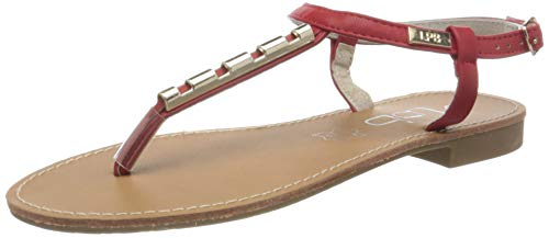 LPB Woman Damen MANEL Sandalen, (Rouge), 41 EU von LPB Woman
