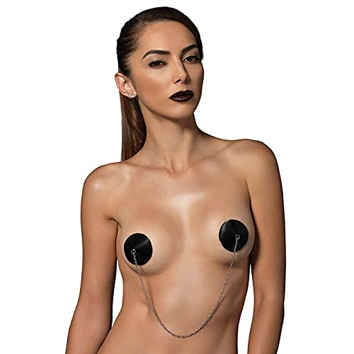 Kink Satin Nipple Covers With Chain von K;nk