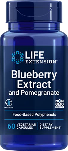 Blueberry Extract with Pomegranate 60 vegetarian capsules von Life Extension