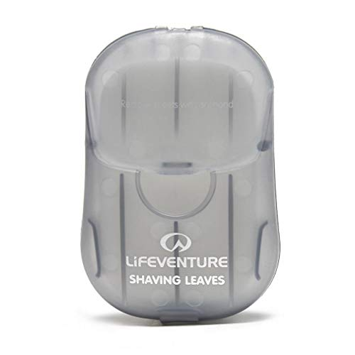 Lifeventure Unisex-Adult Shaving Leaves x 50, Grey, Einheitsgràße von Lifeventure