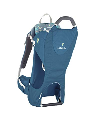 LittleLife Unisex-Adult Ranger S2 Child Carrier, Blue Kindertrage, blau, One Size von LittleLife