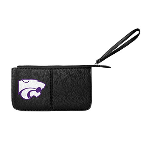 Littlearth Damen NCAA Mississippi Old Miss Rebels Pebble Wristlet, Marineblau, 20,3 x 10,2 x 2,5 cm von Littlearth