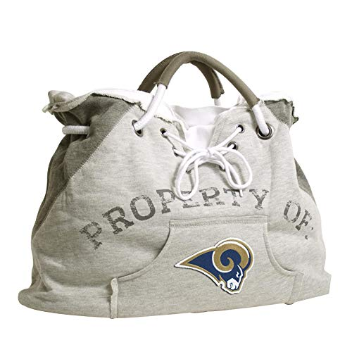 Littlearth NCAA Geldbörse, faltbar, Kieselstein-Design, Unisex, 73050-RAMS, St. Louis Rams, Gray von Littlearth