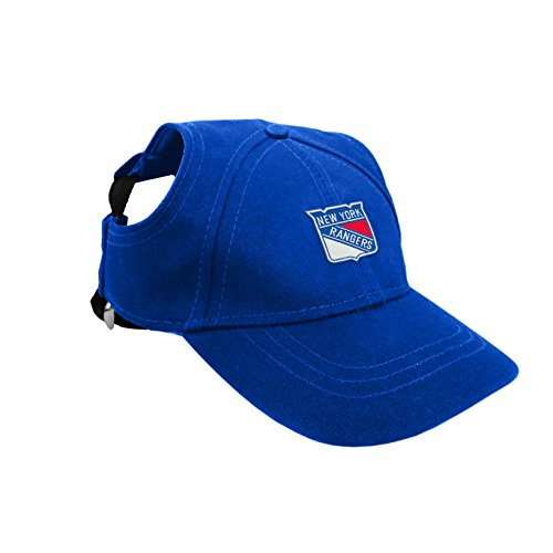 Littlearth NHL New York Rangers Pet Baseball Hat, Medium von Littlearth