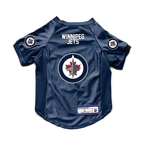 Littlearth NHL Winnipeg Jets Stretch-Jersey, Größe L von Littlearth