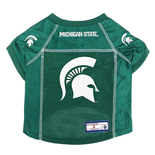 Littlearth NCAA Michigan State Spartans Pet Jersey, Large von Littlearth