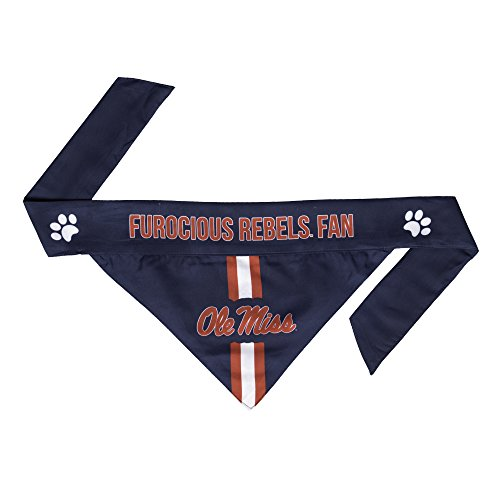NCAA Ole Miss Rebels Pet Bandanna, Large von Littlearth
