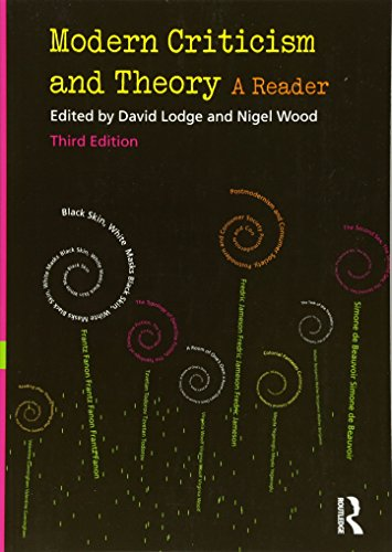 Modern Criticism and Theory: A Reader von Taylor & Francis Ltd