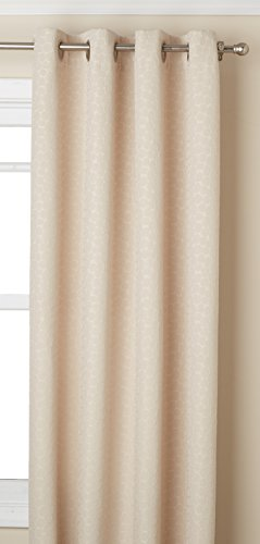 Lorraine Home Fashions Fizz Window Curtain Panel, 54 inch x 84 inch, White von Lorraine Home Fashions
