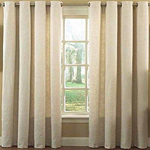 Lorraine Home Fashions Matelassé Window Curtain Panel, 52 x 84-Inch, Beige von Lorraine Home Fashions