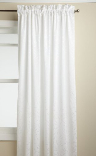 Lorraine Home Fashions Whitfield Fenstervorhang, 132 x 160 cm, Weiß von Lorraine Home Fashions
