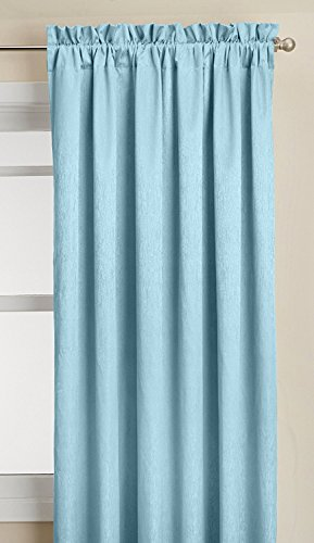 Lothringen Home Fashions Aurora isoliert Rod Pocket Panel, blau, 139,7 x 241,3 cm von Lorraine Home Fashions