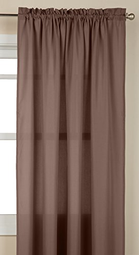 Lothringen Home Fashions Tailored Fenster Vorhang Panel, Taupe, 139,7 x 213,4 cm von Lorraine Home Fashions