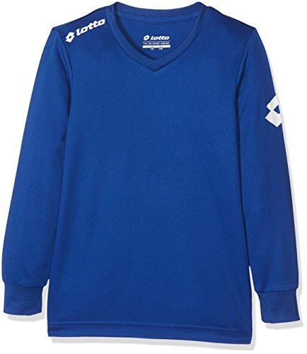 Lotto Kinder T-Shirt Jersey Long Sleeve Team EVO JR, Weiβ, XXS, 8033429375888 von Lotto